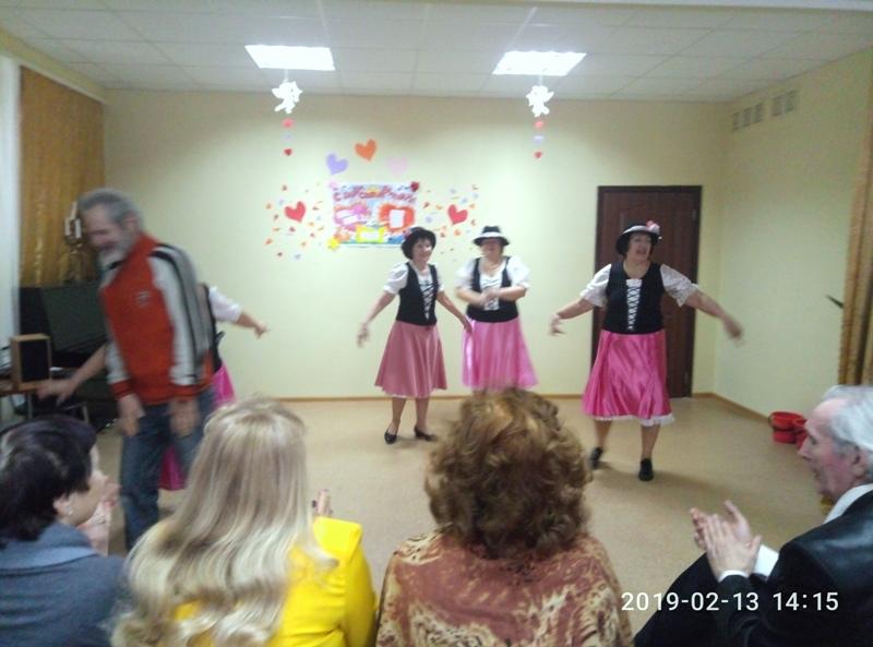 13 лютого 2019 року для підопічних Шевченківського терцентру відбувся концерт клубу активного довголіття «Афродіта» присвячений Дню всіх закоханих